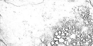 Struttura di pietra del pavimento della crepa Fotografia Stock