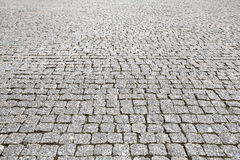 Struttura di pietra della pavimentazione di strada della via Fotografia Stock Libera da Diritti