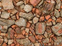 Struttura di pietra della roccia Fotografie Stock