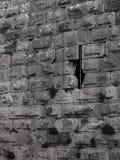 Struttura di pietra di Nimrod Old Fortress Wall Fotografie Stock