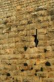 Struttura di pietra di Nimrod Old Fortress Wall Immagini Stock