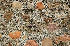 Struttura di pietra eterogenea Immagini Stock