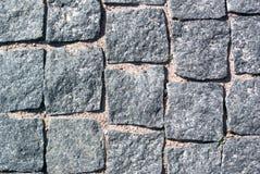 Struttura di pietra grigia della strada fotografia stock