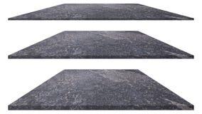 Struttura di pietra isolata su fondo bianco per la decorazione esteriore interna e la progettazione industriale della costruzione fotografie stock