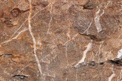 Struttura di pietra naturale con il modello e la struttura unici della superficie Fotografia Stock