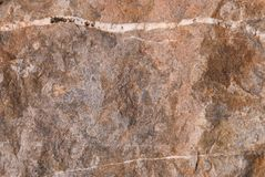 Struttura di pietra naturale con il modello e la struttura unici della superficie Fotografia Stock Libera da Diritti