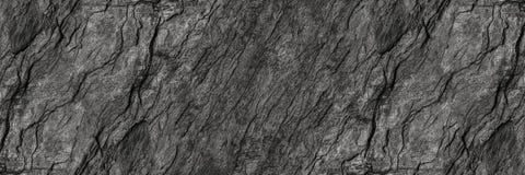 struttura di pietra nera orizzontale per il modello ed il fondo fotografia stock