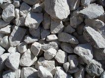 Struttura di pietra schiacciata Fotografia Stock Libera da Diritti