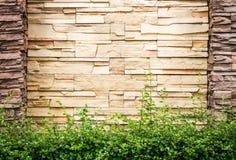 Struttura di pietra, superficie della parete di vecchia costruzione Fotografia Stock Libera da Diritti