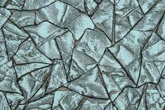 Struttura di pietra in tonalità di blu e di grigio Fondo immagine stock
