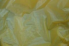 Struttura di plastica da un pezzo di vecchio cellofan sgualcito immagine stock libera da diritti