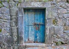 Struttura di porta portoghese fotografia stock libera da diritti