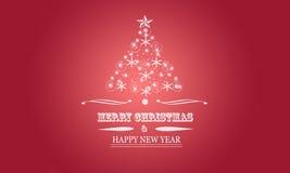 Struttura di saluti di Natale Fotografia Stock Libera da Diritti