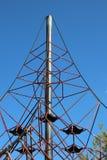 Struttura di scalata dei bambini Fotografia Stock Libera da Diritti