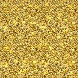 Struttura di scintillio dell'oro di Seamles Fotografia Stock
