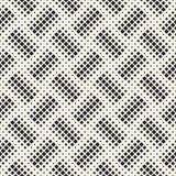 Struttura di semitono alla moda Fondo astratto senza fine con le forme casuali di dimensione Modello di mosaico senza cuciture di illustrazione di stock