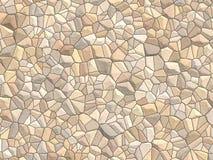 Struttura di Stonewall - cobblestone grande Immagini Stock