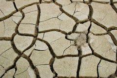 Struttura di suolo incrinato Immagini Stock Libere da Diritti