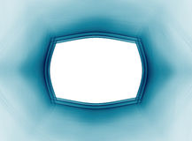 Struttura di Teal su un fondo bianco Fotografie Stock