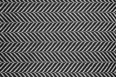 Struttura di tela bianca e nera Fotografia Stock