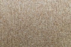 Struttura di tela del tessuto naturale per progettazione, tela di sacco strutturata bro Fotografia Stock Libera da Diritti