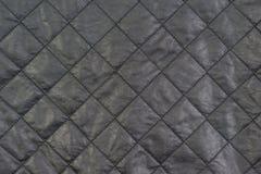 Struttura di tessuto di cuoio naturale Immagini Stock