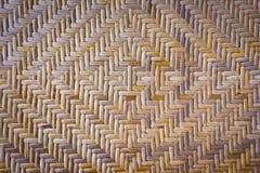 Struttura di tessuto di bambù Fotografia Stock Libera da Diritti