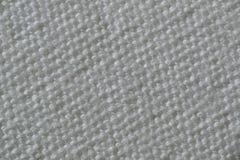 Struttura di tessuto grigio Fotografie Stock Libere da Diritti