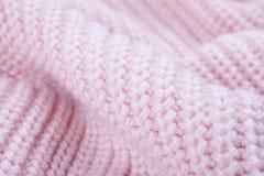 Struttura di tessuto tricottato fotografia stock