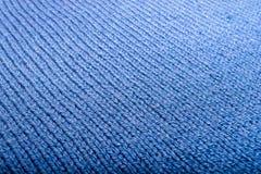 Struttura di tessuto tricottato Fili incagliati Panno dei vestiti caldi di inverno Fotografie Stock Libere da Diritti