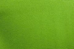 Struttura di tessuto verde intenso denso utilizzato in termo borse fotografia stock