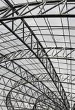 Struttura di tetto del metallo Immagini Stock Libere da Diritti