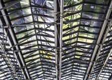 Struttura di tetto del metallo fotografie stock