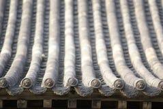 Struttura di tetto e delle mattonelle Fotografie Stock Libere da Diritti