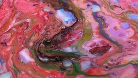 Struttura di turbine vibrante variopinta di scoppio della pittura di esplosione di colori dell'estratto stock footage