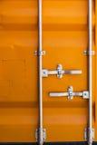 Struttura di un contenitore di carico Fotografia Stock