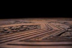 Struttura di un'incisione sul legno fotografia stock