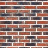 Struttura di un muro di mattoni Nuovi mattoni di tonalità differente Fotografia Stock Libera da Diritti