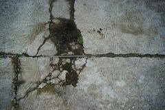 Struttura di un pavimento del cemento rovinato immagine stock