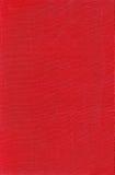 Struttura di un tessuto rosso Fotografia Stock