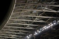 Struttura di un tetto dello stadio fotografia stock