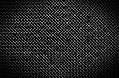 Struttura di una griglia nera del metallo Fotografie Stock Libere da Diritti