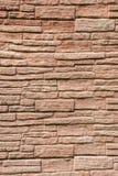 Struttura di una parete da una pietra ruvida Fotografia Stock