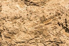Struttura di vecchia pietra distrutta del granito, fondo astratto di geologia Immagini Stock Libere da Diritti