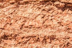 Struttura di vecchia pietra distrutta del granito, fondo astratto di geologia Immagine Stock