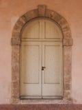 Struttura di vecchia porta Fotografie Stock