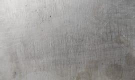 struttura di vecchia superficie dell'alluminio Fotografia Stock