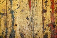 Struttura di vecchie carte da parati di legno del fondo Fotografia Stock Libera da Diritti