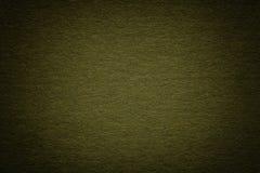 Struttura di vecchio fondo di carta verde scuro, primo piano Struttura di cartone bluastro profondo denso fotografia stock libera da diritti