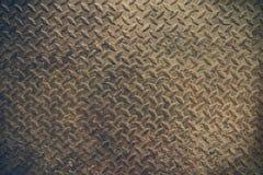 Struttura di vecchio fondo dell'acciaio del metallo Immagini Stock